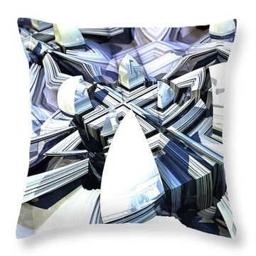Central Avenue Throw Pillow