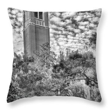 Century Tower Throw Pillow by Howard Salmon