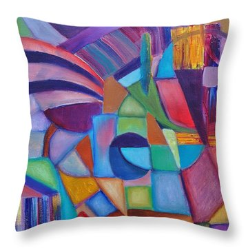 Cerebral Decor # 2 Throw Pillow