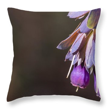 Cerinthe Throw Pillow by Caitlyn  Grasso