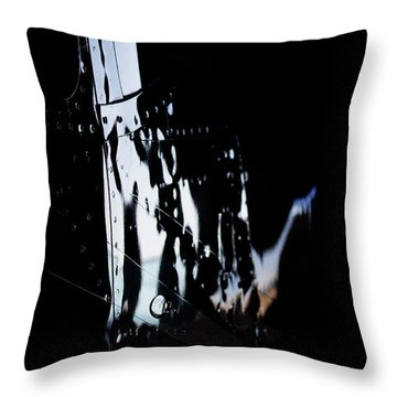 Cessna Reflection Throw Pillow by Paul Job