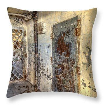 Chain Gang-2 Throw Pillow by Charles Hite