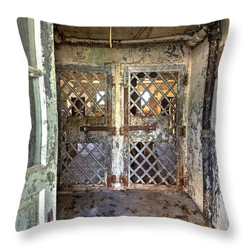 Chain Gang-3 Throw Pillow by Charles Hite