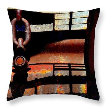 Chain Reaction Throw Pillow by Lauren Leigh Hunter Fine Art Photography