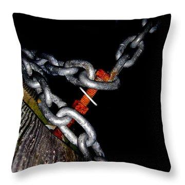 Chain Still Life Throw Pillow