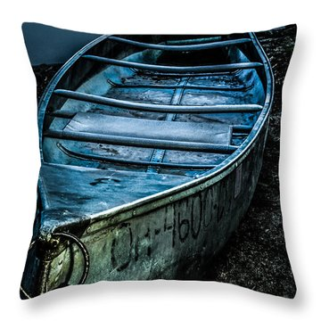 Chained At The Waters Edge Throw Pillow