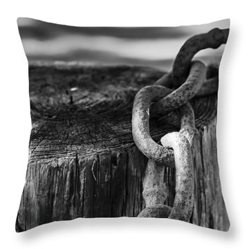 Chained... Throw Pillow