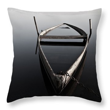 Chained In Time Throw Pillow