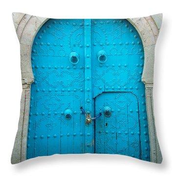 Chained Mini Door Throw Pillow