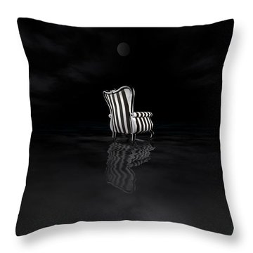 Chair Throw Pillow by Kylie Sabra