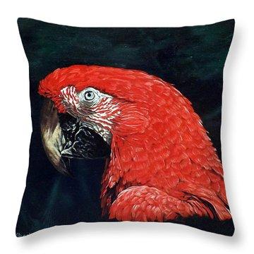 Chaka Throw Pillow by Linda Becker