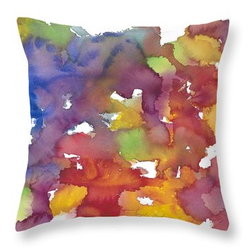 Chakra Balance Throw Pillow