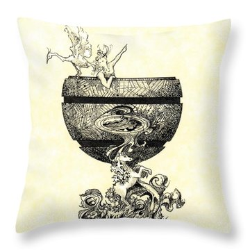Chalice Throw Pillow