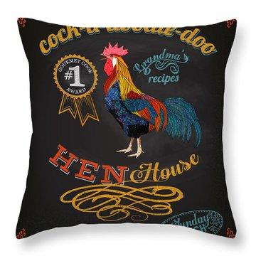 Inn Throw Pillows