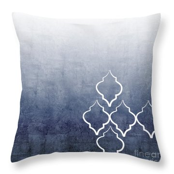 Chambray Ombre Throw Pillow