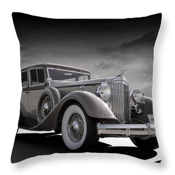 Champagne Cruise Throw Pillow