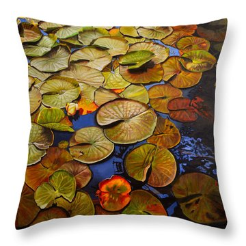 Change Of Season Throw Pillow