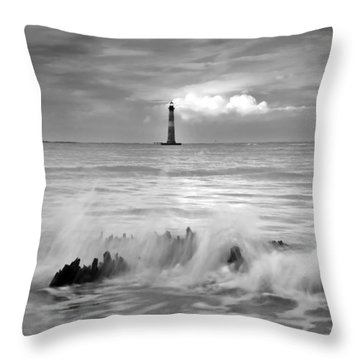 Change Of Time Throw Pillow by Serge Skiba