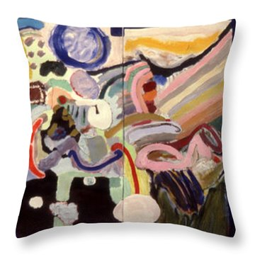 Changes In Space Throw Pillow
