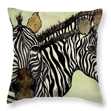 Changing Direction Throw Pillow