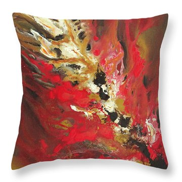 Channelling Energy Throw Pillow