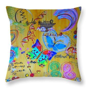 Chaotic Dynamics  Throw Pillow