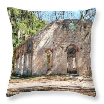 Chapel Of Ease - Front Throw Pillow