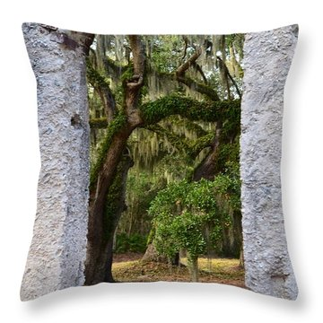 Chapel Of Ease Throw Pillow