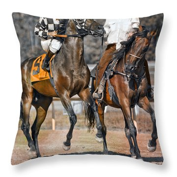 Chaperoned  Throw Pillow