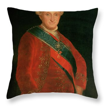 Charles Iv Throw Pillow