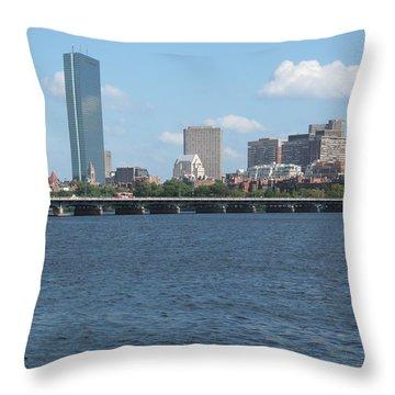 Charles River Summer Throw Pillow