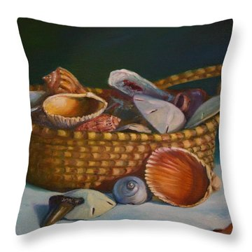 Charleston Basket Throw Pillow