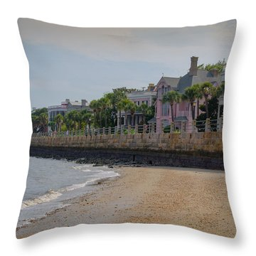 Charleston Battery Throw Pillow by Serge Skiba