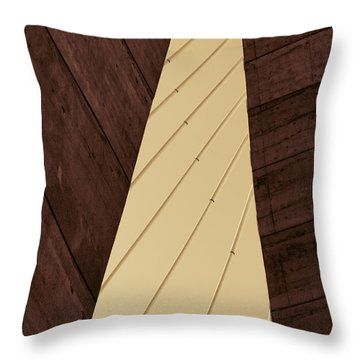 Charleston Bridge Abstract Throw Pillow