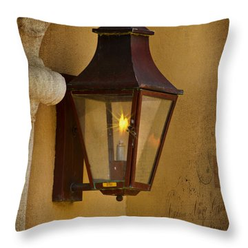 Charleston Carriage Light Throw Pillow