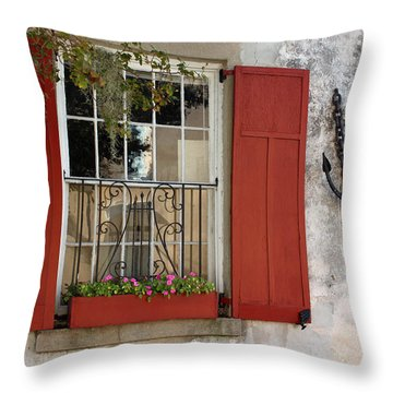 Charleston French Quarter II Throw Pillow
