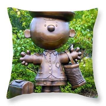 Charlie Andiamo Americano Throw Pillow by Charlie Brock