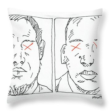 Charlie Hebdo Justice Throw Pillow