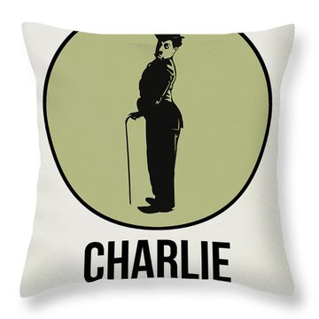Charlie Poster 1 Throw Pillow