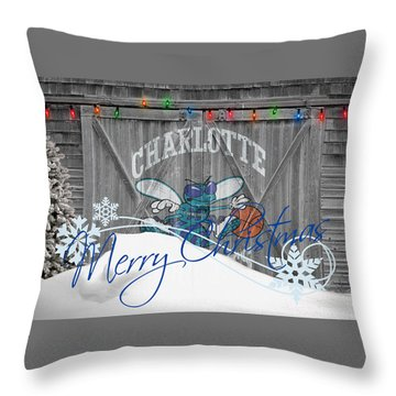 Charlotte Hornets Throw Pillows
