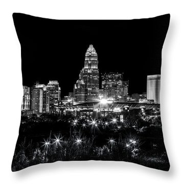 Charlotte Night Throw Pillow by Chris Austin