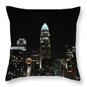 Charlotte Night Cnp Throw Pillow by Jim Brage