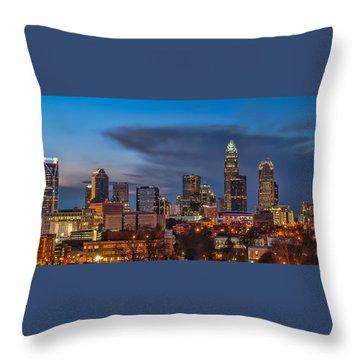Charlotte Nc Throw Pillows