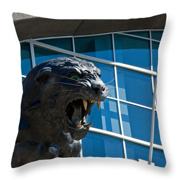 Carolina Panthers Throw Pillow