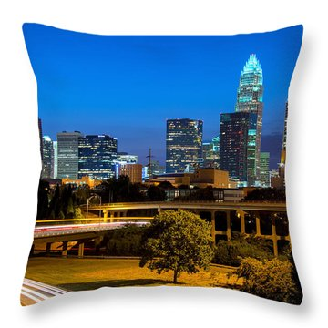 Charlotte Throw Pillow by Serge Skiba