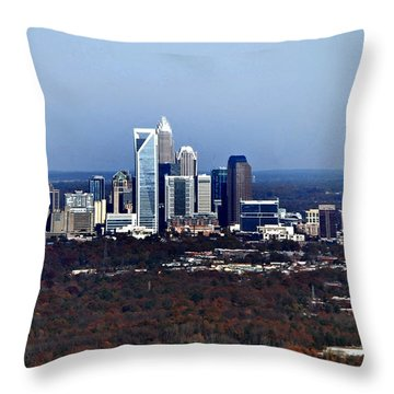 Charlotte Throw Pillow by Skip Willits