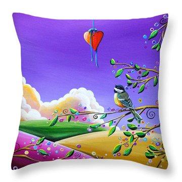 Cherish Throw Pillow by Cindy Thornton