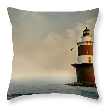 Chartered Course Throw Pillow