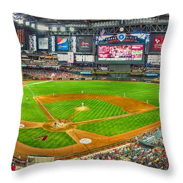 Chase Field 2013 Throw Pillow