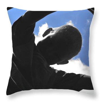 Chasing Rabbits Throw Pillow